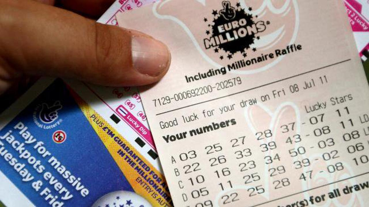 Hunt on for ANOTHER National Lottery winner sitting on £3.6 million ticket