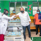 Ablakwa To The Rescue Again As He Presents Incubator To Akuse Hospital