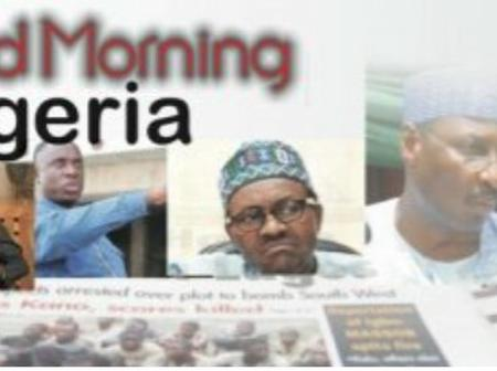 Nigerian papers: 10 things you have to know this Saturday