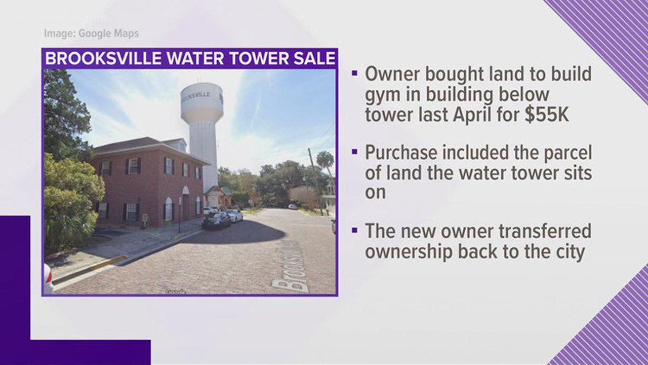 Brooksville city manager terminated after sale of water tower