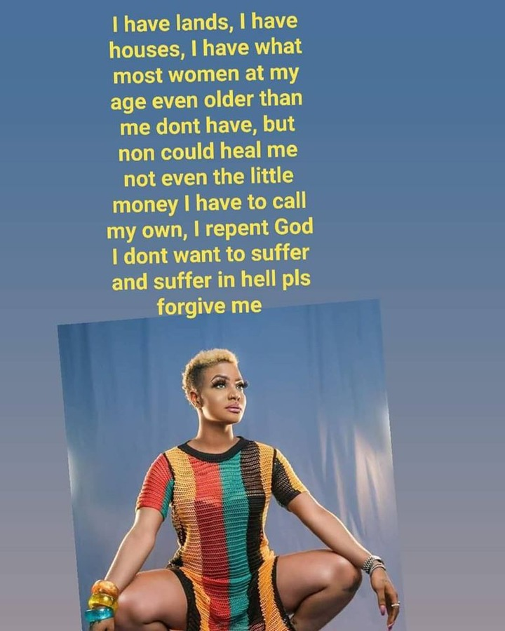 'I don't want to suffer on earth and suffer in hell' - Liberian star, Canc Queen quits music & gives her life to Christ 3