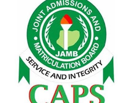 Check JAMB CAPS 2021: Status Messages and Meanings