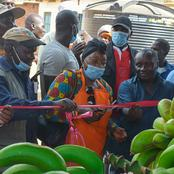 Yuaya Modern Market officially commissioned by Siaya County MP Hon.Dr.Christine Ombaka