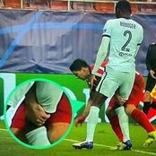 See What Suárez Did To Chelsea's Antonio Rudiger Which UEFA Really Needs To Look Into.