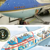 See How Beautiful The Interior Of President Biden's Plane, Airforce One Look
