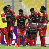 Despite Asante Kotoko's 3 Outstanding Matches, They Still Top The Ghana Premier League's Away Table
