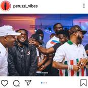 Reactions As Perruzi Shares New Pictures Of Himself And DMW Boss, Davido Chilling Together