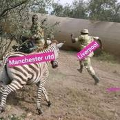 Hilarious Photos That Are Going Viral After Manchester United Beat Liverpool