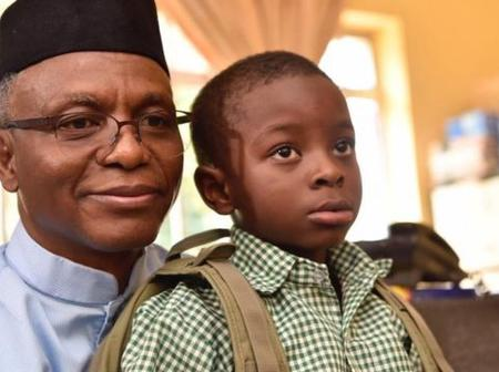 Governor El-Rufai Quietly Withdraws His Son From Public School Two Years After Enrolling Him.