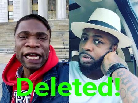 Speed Darlington loses his two Instagram pages a day after mocking Tunde Ednut