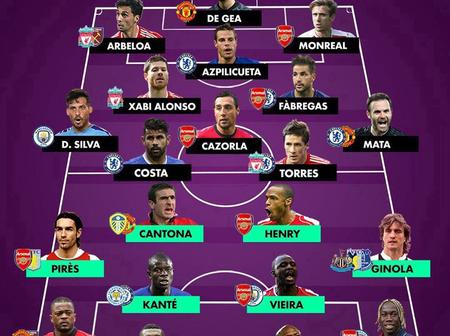 Premier League Spanish Best Xi And Premier League French Best Xi Players For Each Position