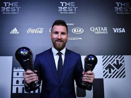 Lionel Messi was crowned the world's best player of the decade