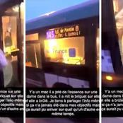 Drame en France : il asperge de l'essence et met le feu sur une passagère d'un bus âgée de 54 ans