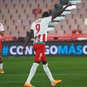 In-form Super Eagles star nets again to take his total goals of the season in Spain to 12
