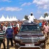 Raila's Triumphant Entry In Kibra Brings Businesses To A Standstill At Kibra Market