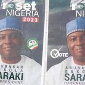 2023 Presidential Election: Saraki Presidential Posters Flood Abuja