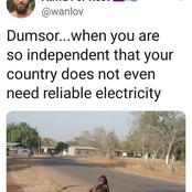 It's Like MTN. Everywhere You Go. Check Out Hilarious Comments From Social Media Users Over Dumsor.