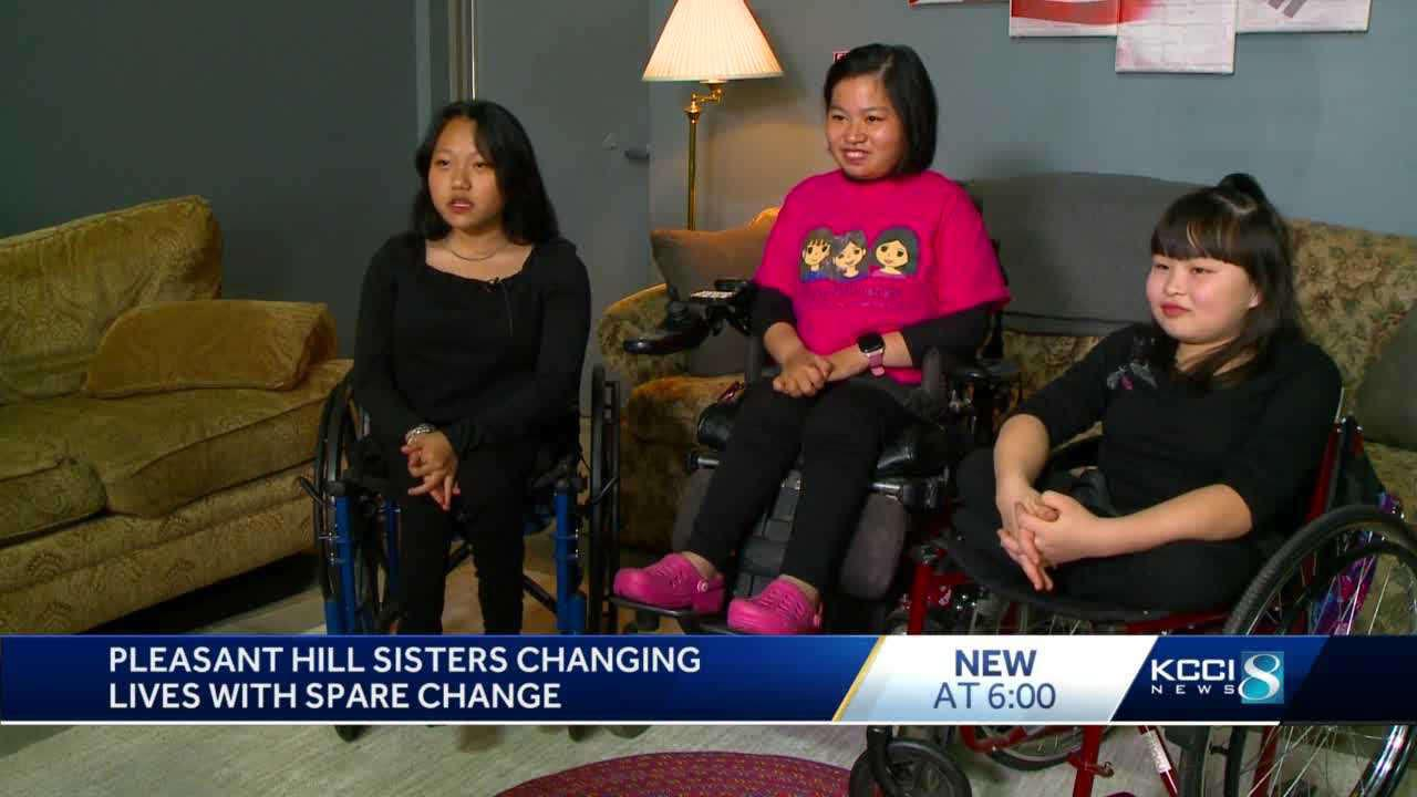 Three girls hope to raise $1 million to make a change for families