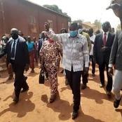Affi N'guessan accueilli en fanfare dans le Moronou après sa libération