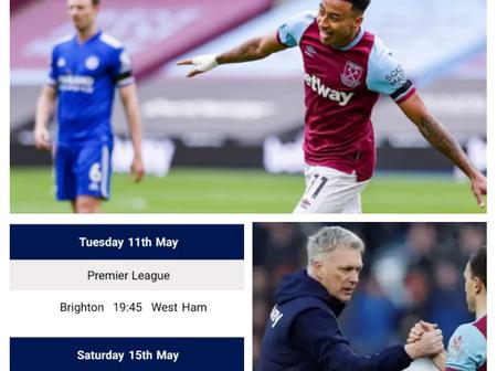 Check Out How West Ham United Can Qualify For UEFA Champions League Next Season