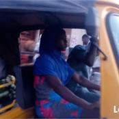 Story of Kaothar Ajani, an orphan girl who rides tricycle to feed her siblings (photos)