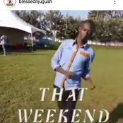 This Man is Really Funny! See How Njugush is Stepping To The Weekend Like!