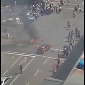 Picture of Durban Smith Street, as Xenophobic Attacks have Started: See This(opinion)