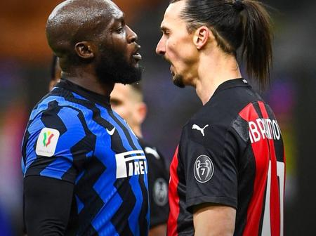 AC Milan And Inter Donate The Fine For Zlatan And Lukaku Clash In January To Charity