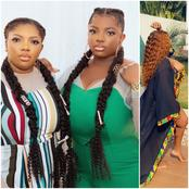 People react as Dorathy and her lookalike sister rock same hairstyle to celebrate each other.(Photo)