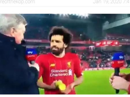Mohammed Salah was denied the MOTM award after a 2-0 win against the red devils at Anified