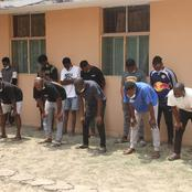 How 13 Yahoo Boys were arrested from their hideouts in early morning raid in Lekki