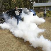 Uproar As Lang'ata MP Nixon Korir Car Damaged In London Ward By-elections