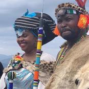 News Just: Chief Thandisizwe Diko II has passed away. Husband of Khusela Diko