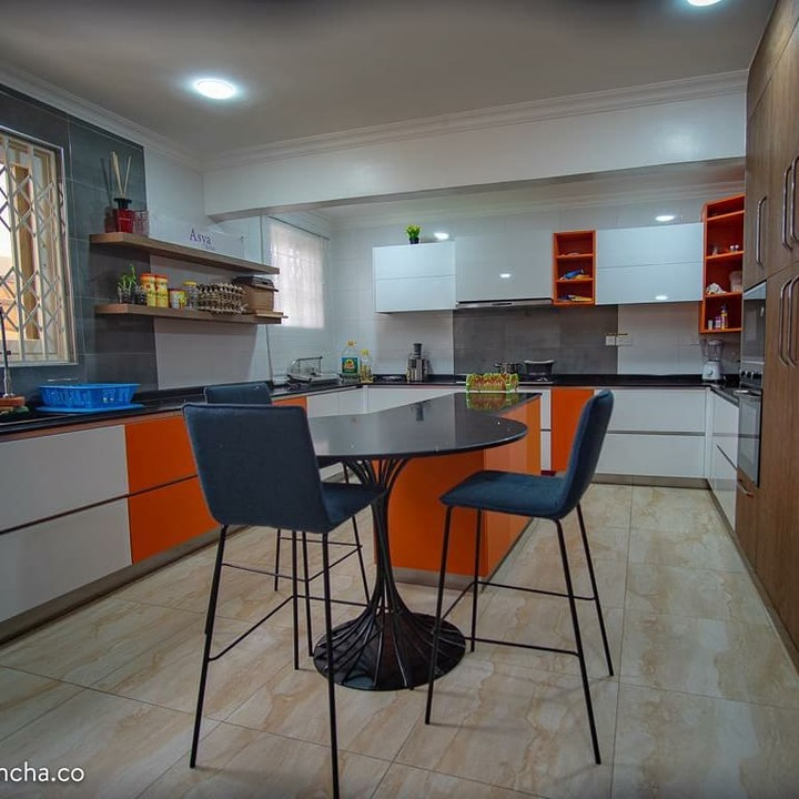 - 72f8a78c119e6d02b58f9e9e83e4fa02 quality uhq format jpeg resize 720 - Chai Who Say Money Is Not Good? Check Out These Beautiful And Stylish Photos Of Nana Ama Mcbrown's Kitchen (Photos)