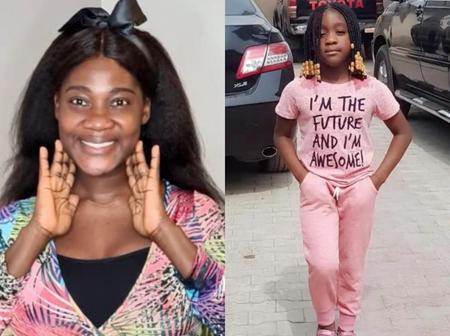 Checkout Photos Of Mercy Johnson's First Daughter