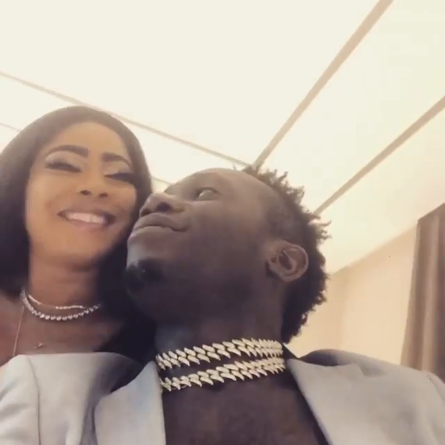 Duncan Mighty shares romantic pictures with his new partner, sparks mixed reactions 19