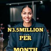 Meet this Nigerian Lady, Elizabeth Who Earns Over N3.5Million Per Month See What She Does (PHOTOS)