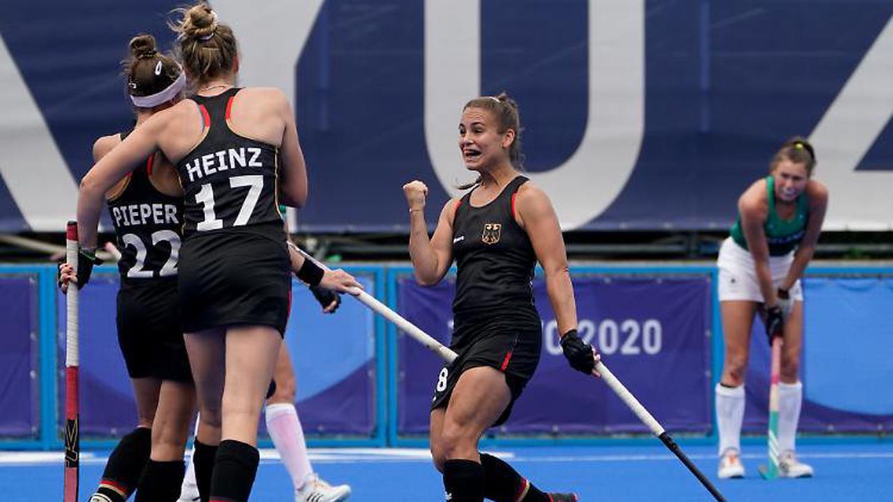 Hockey-Herren mit Sieg ins Viertelfinale - Damen-Team stark