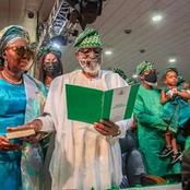 If You are from Ondo, You will Always Remember Akeredolu's 2nd Term Inauguration for These 3 Things