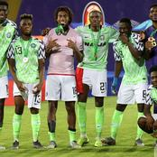 Super Eagles star reacts after winning two awards (Photos)