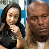 Betty Kyalo Furious After American Actor Tyrese Gibson Crossed Her Path