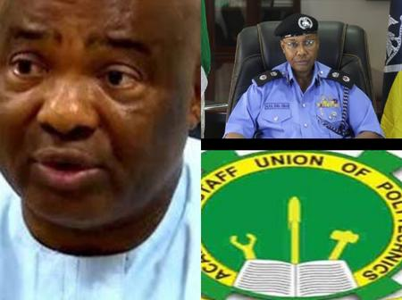 Today's Headlines: Defend Yourself From IPOB-Uzodinma, Buhari Appoints New IGP, ASUP Commence Strike
