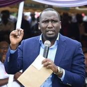 Senator Cheruiyot Reacts As Moi Girls Administration Uses Questionnaire To Identify Protest Planners