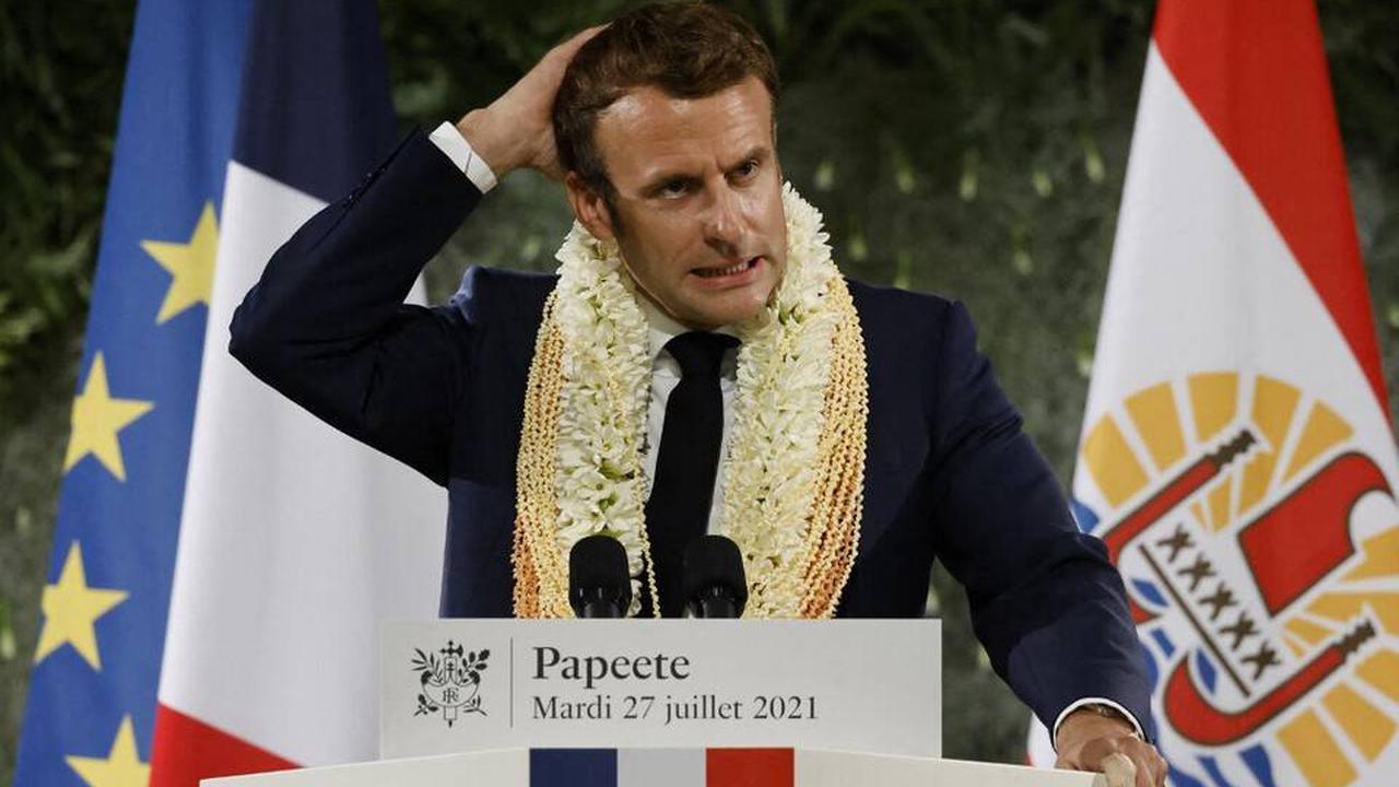 """Polynésie française: «Le concept de """"dette"""" utilisé par Emmanuel Macron établit une relation équitable», selon l'historien Jean Garrigues"""
