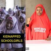 Hours after over 300 schoolgirls were kidnapped in Zamfara, see what Aisha Yesufu said