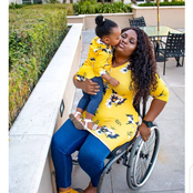 Touching Photos Of Mothers With Disabilities Taking Care Of Their Lovely Children