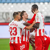 Nigerian Striker scores twice to secure a 5-0 victory in the Spanish Cup