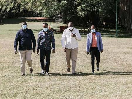 Joho, Kingi Meeting With Uhuru Splits Coast Region as Leaders Trade Accusations Against Each Other