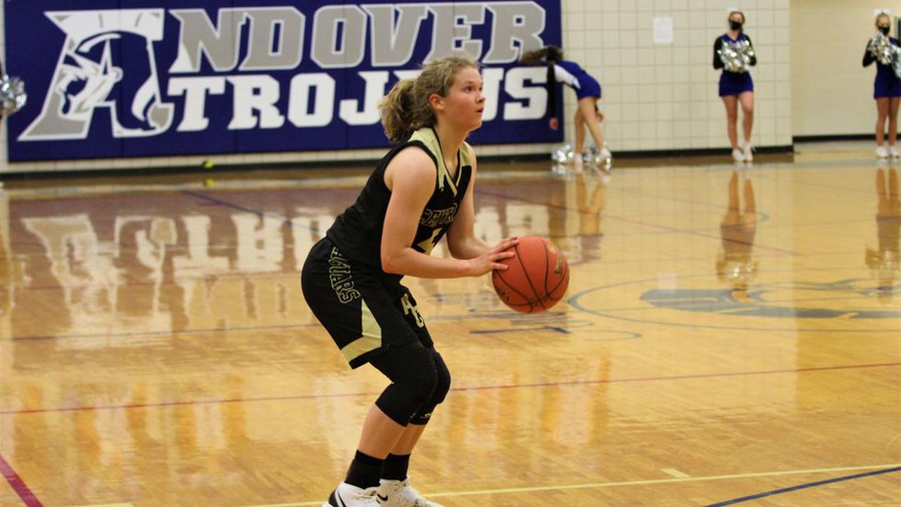 Hot shooting Andover Central sinks Andover