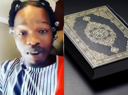 Naira Marley advises Muslims on how to complete the Quran for Ramadan in 30days